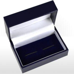 Blue Cufflink Box