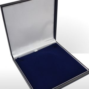 Large Blue Necklace Box