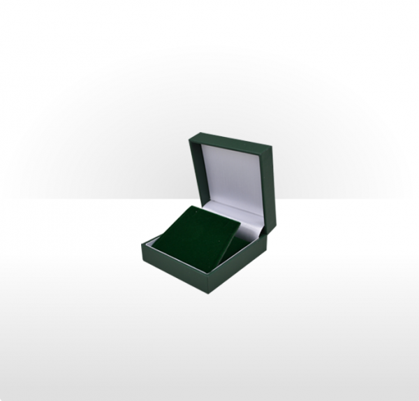 Green Pendant or Earring Box