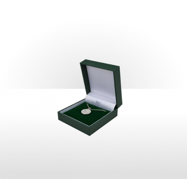 Green Flat Pad Pendant Box