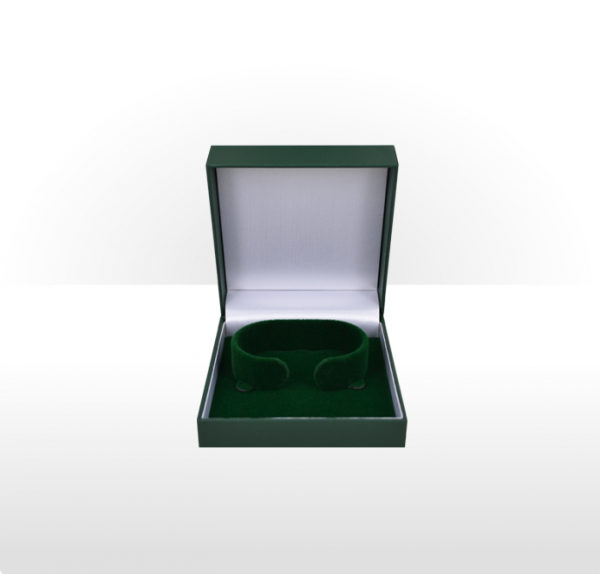 Green Flat Pad Bangle Box