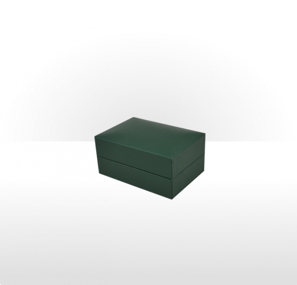 Green Cufflink Box
