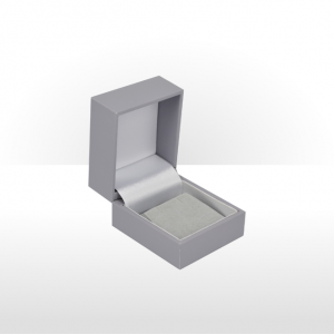 Grey Earring Box