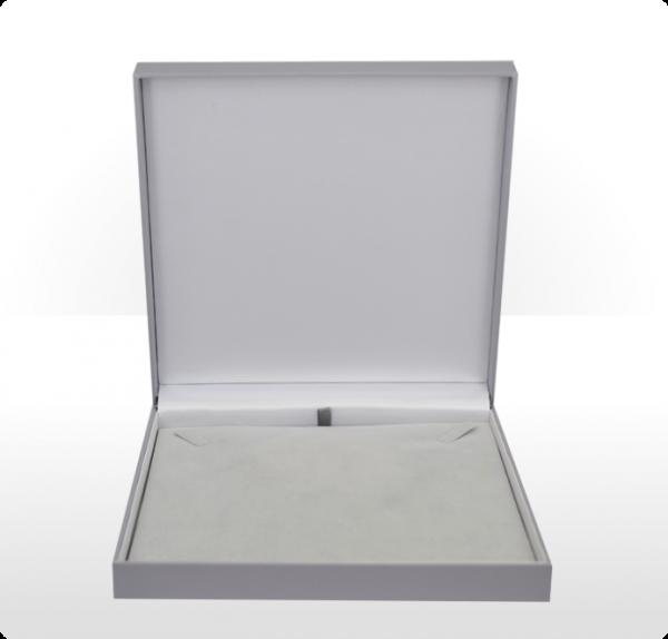 Large Grey Necklace Box