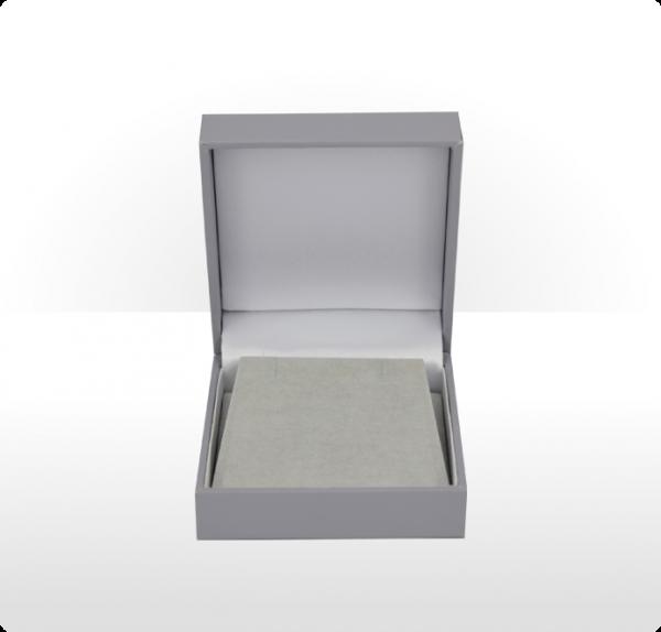 Grey Pendant or Earring Box