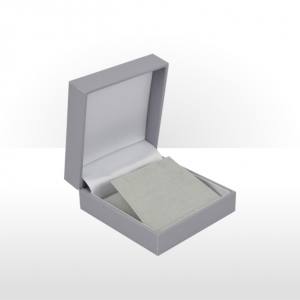 Grey Pendant or Earring Box