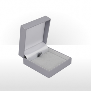 Grey Flat Pad Pendant Box