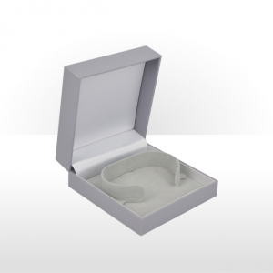 Grey Flat Pad Bangle Box