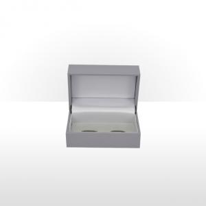 Grey Cufflink Box