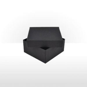 Small Black Gift Box with Polywadding Insert