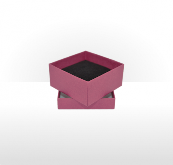Small Raspberry Gift Box with Double Side Foam Insert