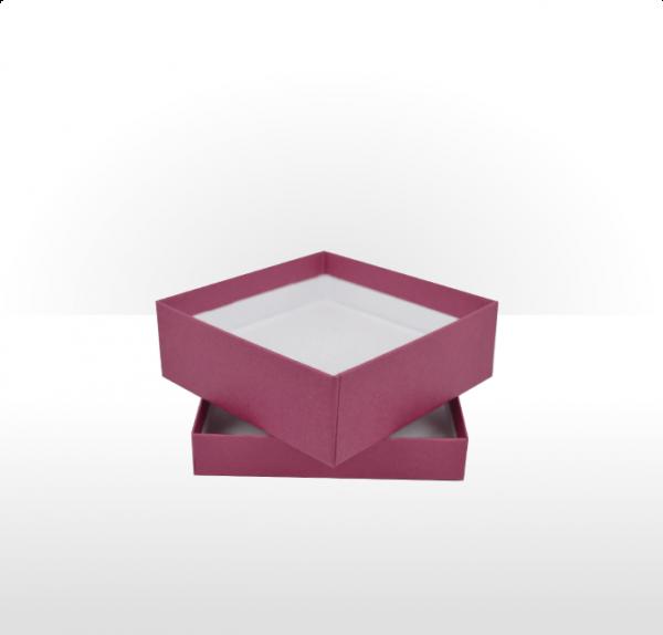 Medium Raspberry Gift Box with Double Side Foam Insert