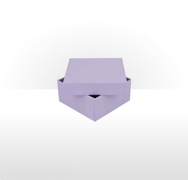 Small Lilac Gift Box with Double Side Foam Insert