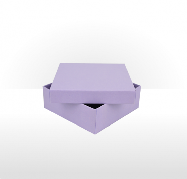 Medium Lilac Gift Box with Double Side Foam Insert