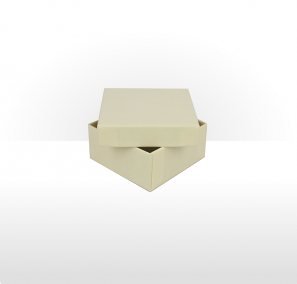 Small Buttermilk Gift Box with Double Side Foam Insert
