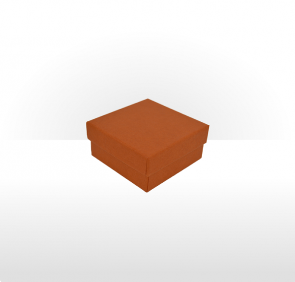 Small Terracotta Gift Box with Double Side Foam Insert
