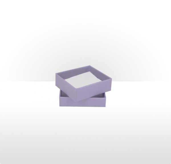 Small Lilac Postal Gift Box with Double Side Foam Insert