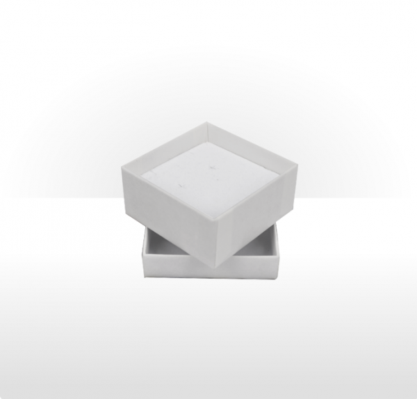 Small White Gift Box with Double Side Foam Insert