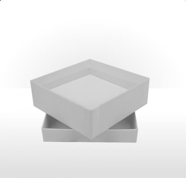 Medium White Gift Box with Double Side Foam Insert