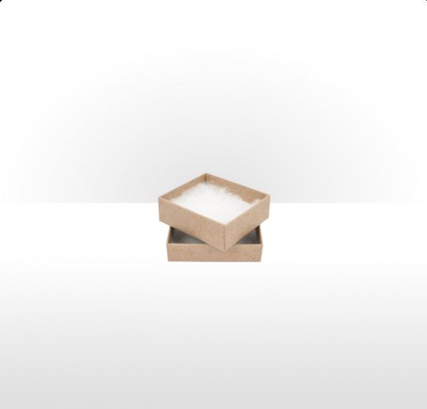 Small Kraft Paper Postal Gift Box with Polywadding Insert