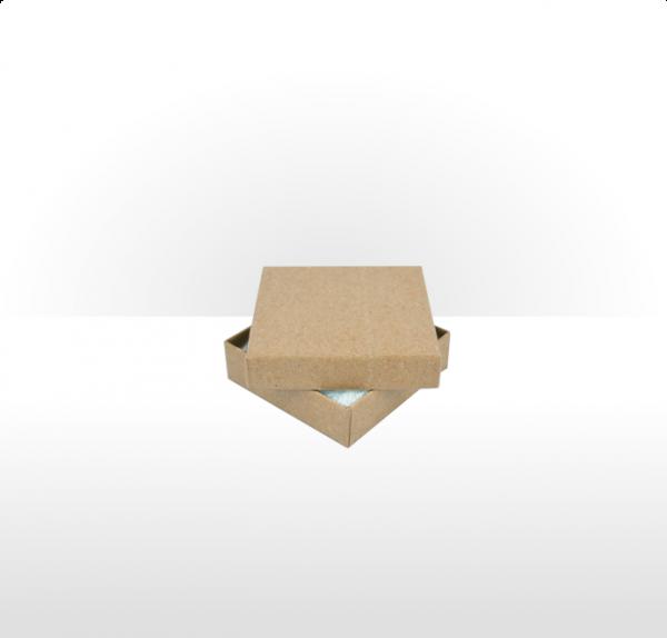 Medium Kraft Paper Postal Gift Box with Polywadding Insert