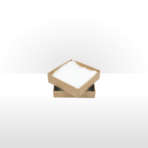 Medium Kraft Paper Postal Gift Box with Polywadding Insert