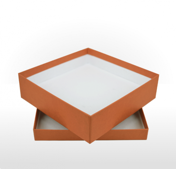 Large Terracotta Gift Box with Double Side Foam Insert