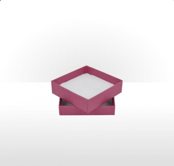 Medium Raspberry Postal Gift Box with Double Side Foam Insert