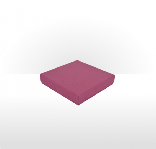 Large Raspberry Postal Gift Box with Double Side Foam