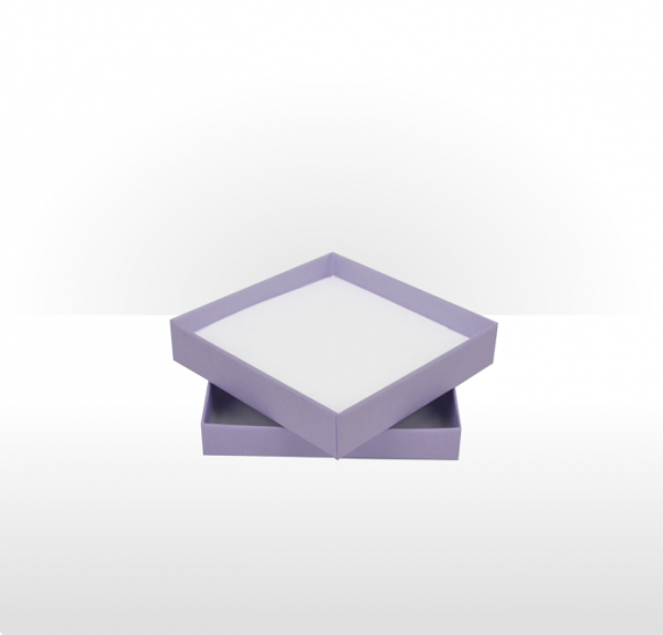 Large Lilac Postal Gift Box with Double Side Foam