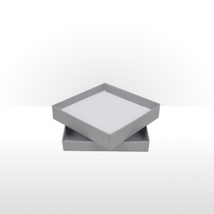 Large Silver Grey Postal Gift Box with Double Side Foam