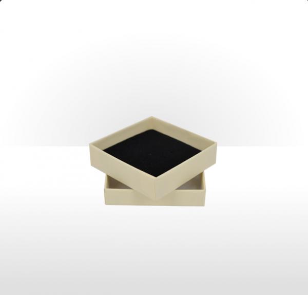 Medium Buttermilk Postal Gift Box with Double Side Foam Insert
