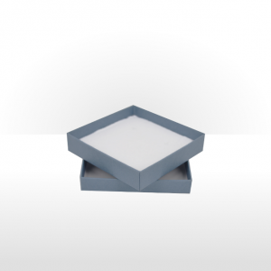 Large Steel Blue Postal Gift Box with Double Side Foam