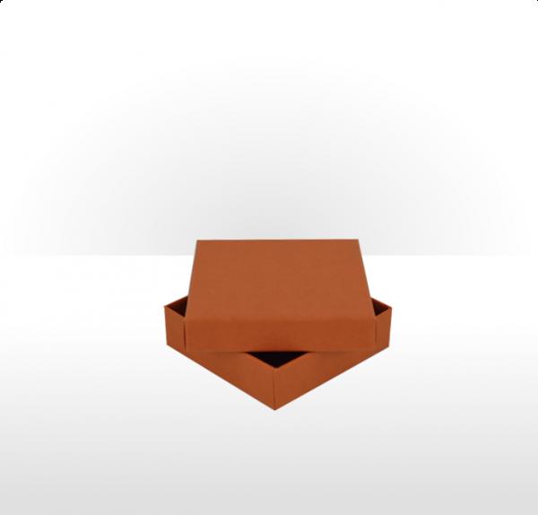 Medium Terracotta Postal Gift Box with Double Side Foam Insert