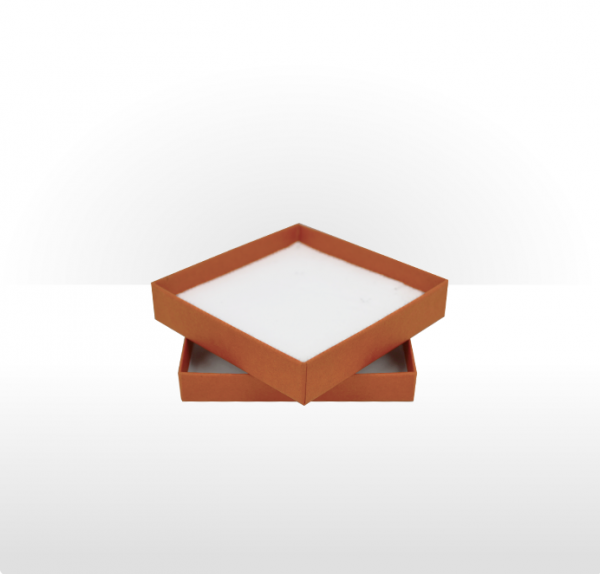 Large Terracotta Postal Gift Box with Double Side Foam