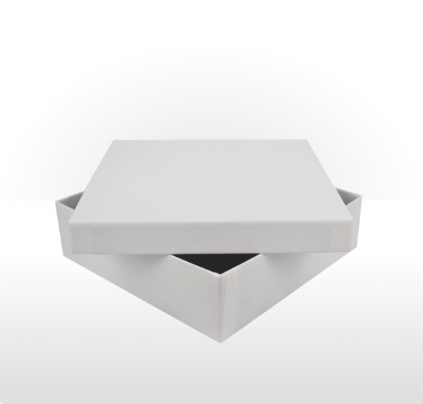 Large White Gift Box with Double Side Foam Insert