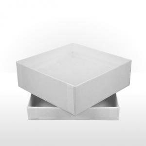 Large White Gift Box with Polywadding Insert