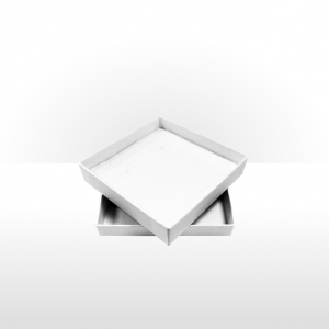 Large White Postal Gift Box with Double Side Foam