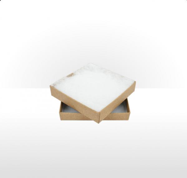 Large Kraft Paper Postal Gift Box with Polywadding Insert