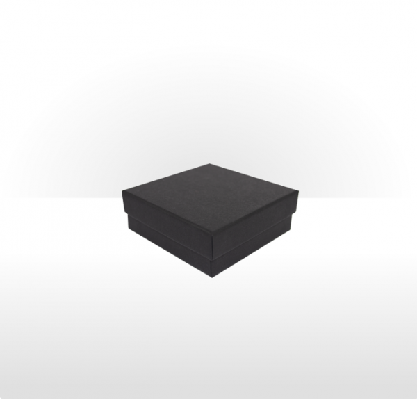 Small Black Gift Box With Flocked Foam Insert