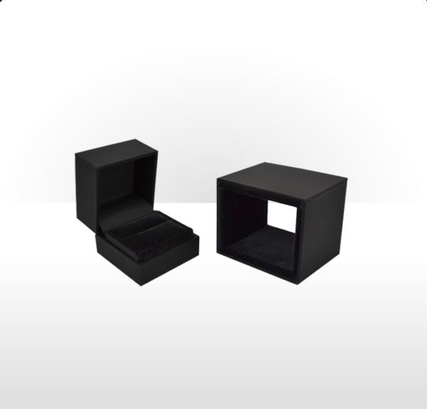 Premier Range Ring Box Black