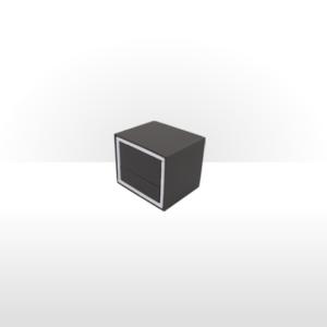 Premier Range Earring Box Grey