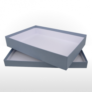 Extra Large Steel Blue Gift Box 275 x 195 x 50mm