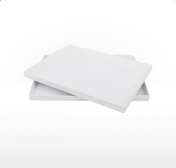 A5 size gift box - Cotton White