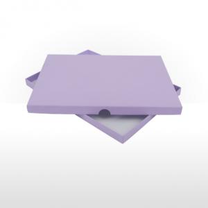 A5 size gift box - Lilac