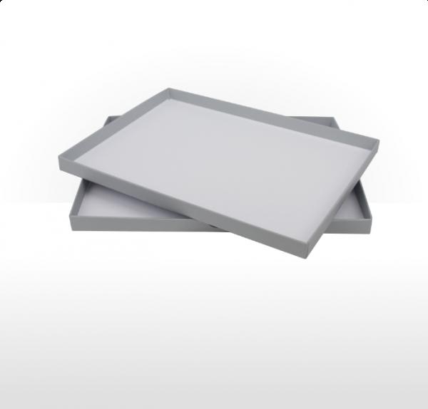 A5 size gift box - Silver Grey