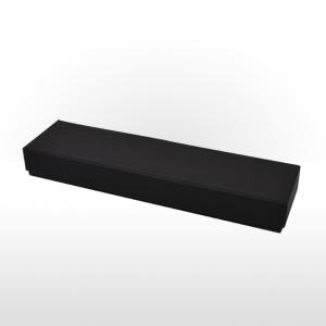Black Fine Linen Paper Covered Pen or Bracelet Box